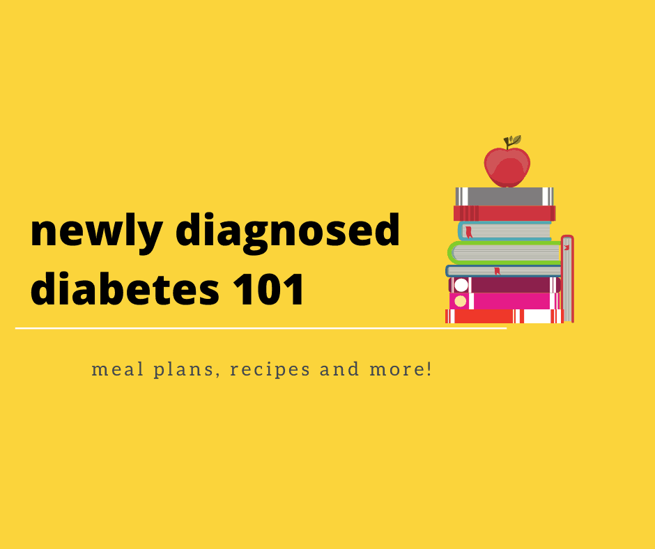 new diabetes with book image