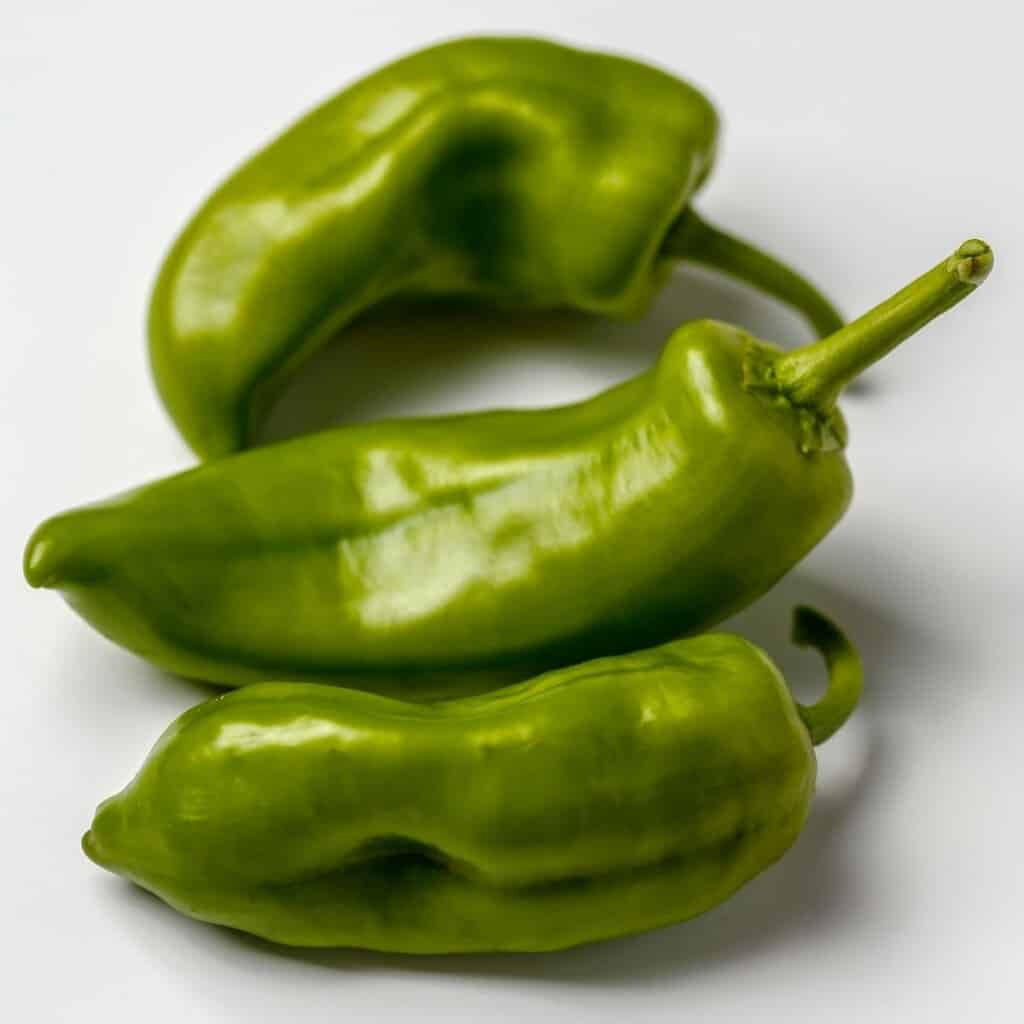 3 green chiles
