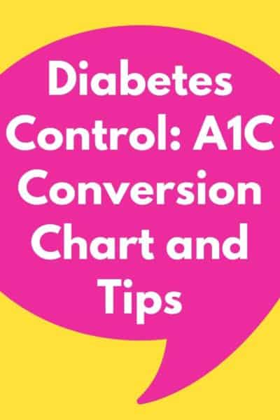 Diabetes Control: A1C Conversion Chart & Tips