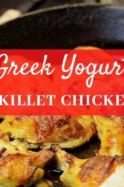 Greek Yogurt Skillet Roasted Chicken
