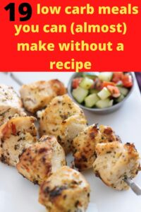 chicken shish kabob with text