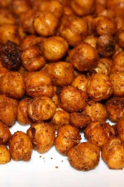 Tex Mex Roasted Chickpeas