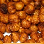 roasted chickpeas with title