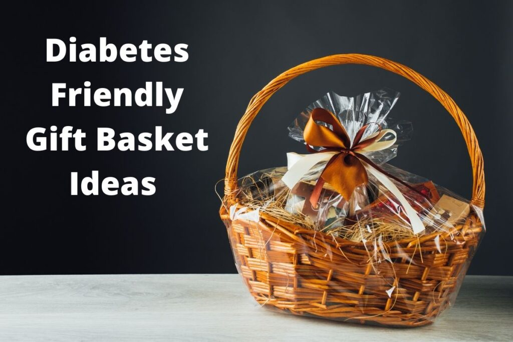 gift basket with text