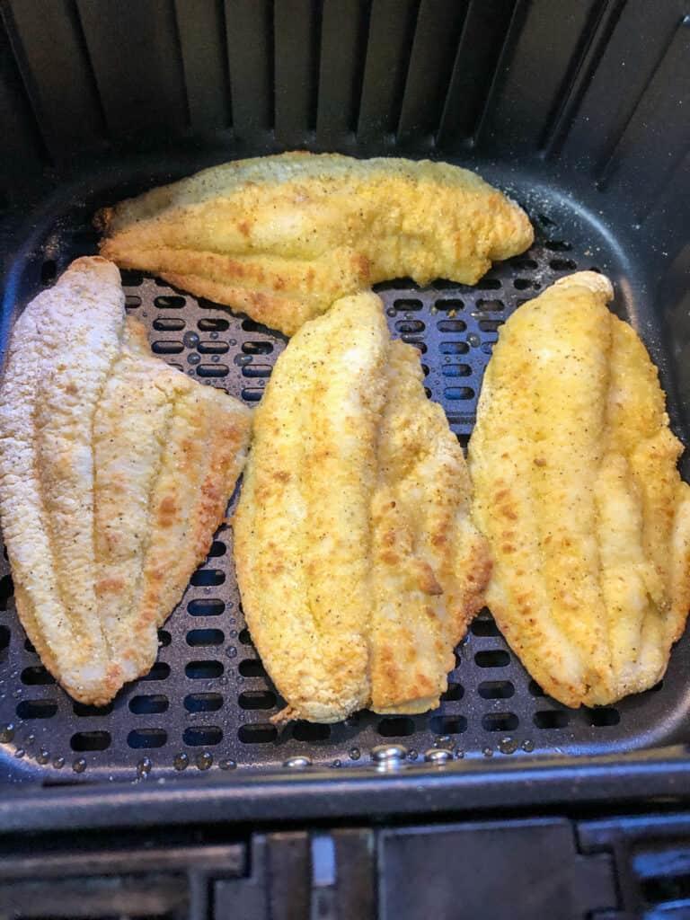 breaded catfish filets in air fryer