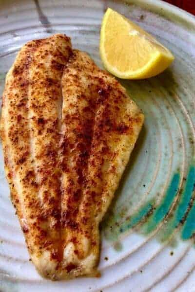 Easy Low Carb Baked Fish Story