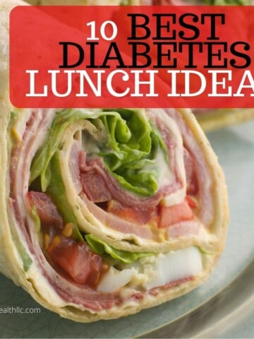tortilla roll up with graphic 10 best diabetes lunch