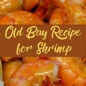 boiled shrimp with lemons